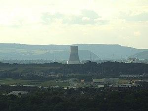 Mülheim-Kärlich Nuclear Power Plant - Image: Kernkraftwerk Mülheim Kärlich Kühlturm