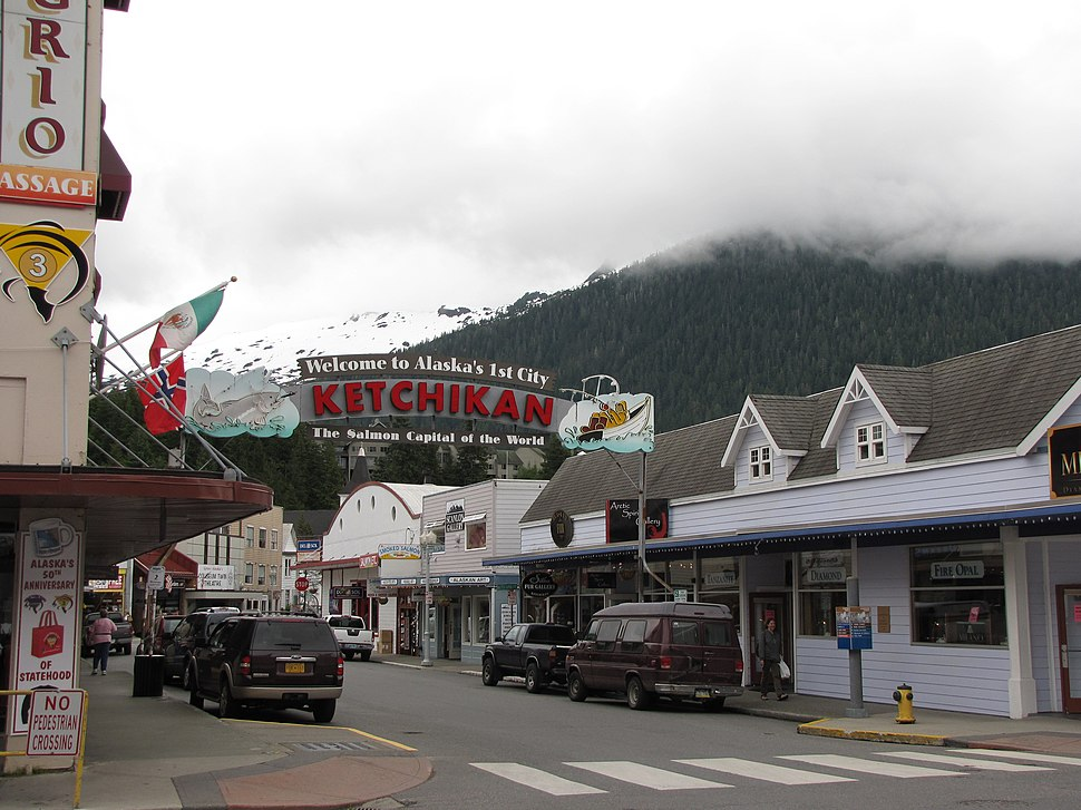 Ketchikan sign June 2009