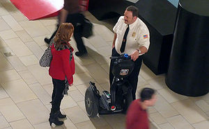 Kevin James - James on the set of Paul Blart: Mall Cop: Burlington Mall, Burlington, Massachusetts, 2008