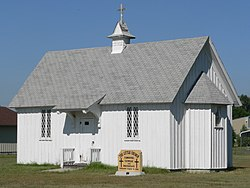 The Little Church in Keystone is listed in the National Register of Historic Places[1]