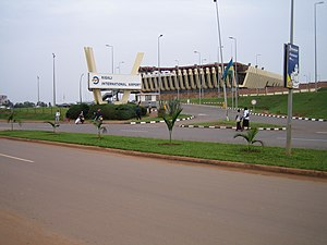 RwandAir - The head office is located in the main building of Kigali International Airport