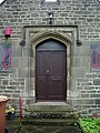 Kildwick New Church Centre, Doorway - geograph.org.uk - 880818.jpg