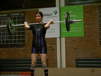 Kimiko Douglass-Ishizaka - Kimiko Ishizaka performing the Clean and Jerk