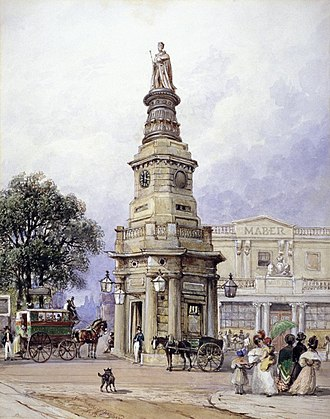 King's Cross (building) - The King's Cross monument