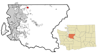 King County Washington Incorporated and Unincorporated areas Duvall Highlighted.svg