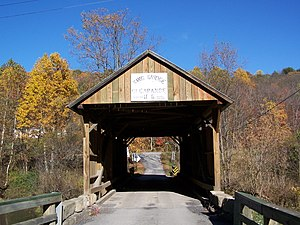 Wayne Township, Greene County, Pennsylvania - King Covered Bridge (1890) National Register of Historic Places