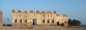Bargal - Ruins of the Majeerteen Sultanate King Osman Mahamuud's castle in Bargal, built in 1878.