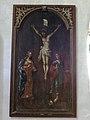 Kirche Groß Kiesow Gemälde Kirchenschiff Ostseite östlich Triumphbogen.jpg