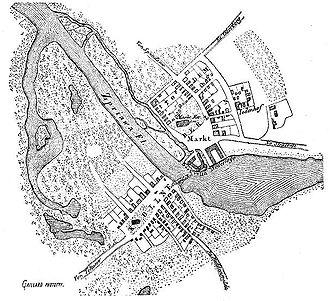 Teltow (region) - Berlin und Cölln zur Zeit ihrer Begründung, etwa 1230