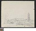 Klooster en kerktoren van Drongen, Gent, circa 1823 - circa 1842, Groeningemuseum, 0040005000.jpg