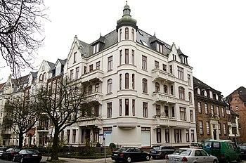 Ecke Klopstock- und Körnerstraße