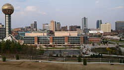 Skyline of Knoxville, Tennessee