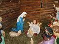 Kościół pw. Najświętszego Serca Pana Jezusa w Kamiennej Górze, szopka bożonarodzeniowa.JPG