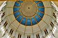 Koekelberg Basilique Nationale Sacré-Coeur Innen Kuppel 6.jpg