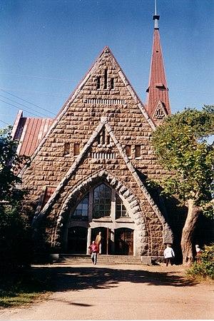 Primorsk, Leningrad Oblast - A church in Primorsk, originally a Finnish Lutheran church designed by Josef Stenbäck, 1902–1904