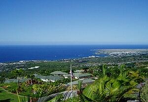 Kailua, Hawaii County, Hawaii - Kailua-Kona from Holualoa