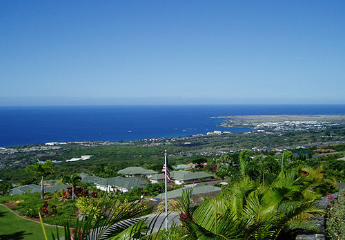 Kailua-Kona from Holualoa