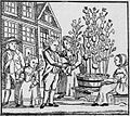 Koopvrouw met paasbroodboompjes 01.jpg