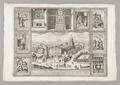 Kopparstick Kyrkan S. Sebastiano i Rom, 1600-tal - Skoklosters slott - 99717.tif