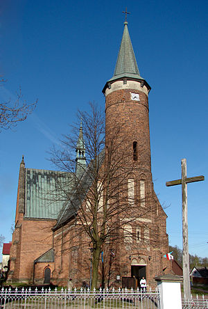 Drzewica - Saint Lucas Church