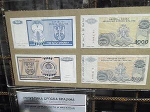 Krajina dinar - Krajina dinar