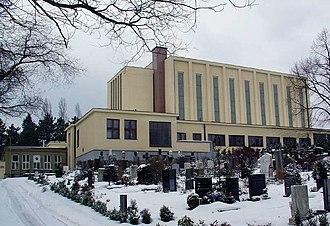 Strašnice Crematorium - Image: Krematorium strasnice