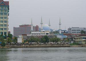 Kuantan River - Kuantan City from the Kuantan River.