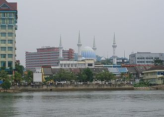 Kuantan River - Kuantan City from the Kuantan River.