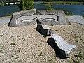 "Kunstwerk ""Donauwelle"".JPG"