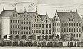 Kvarteren Milon och Atomera, Karl X Gustavs begravningståg den 4 november 1660 (del).jpg