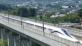 L0 Series Japanese maglev train type