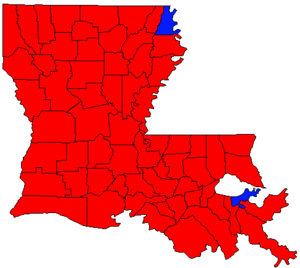 Louisiana gubernatorial election, 1999 - Image: LA Gov Election Oct 99