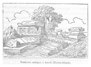 Elaiussa Sebaste - Grave of the Princess