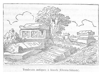 Elaiussa Sebaste - Grave of the Princess