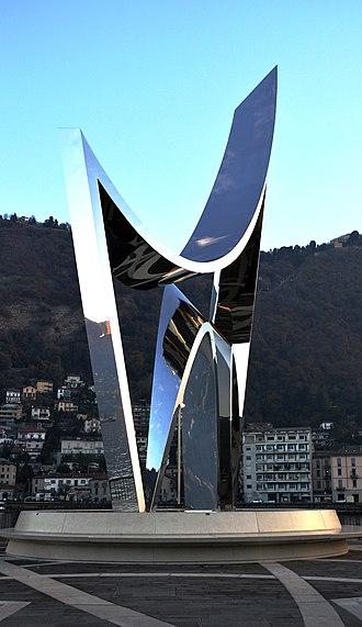 Como - Life Electric, by Daniel Libeskind, to celebrate scientist Alessandro Volta (2015)