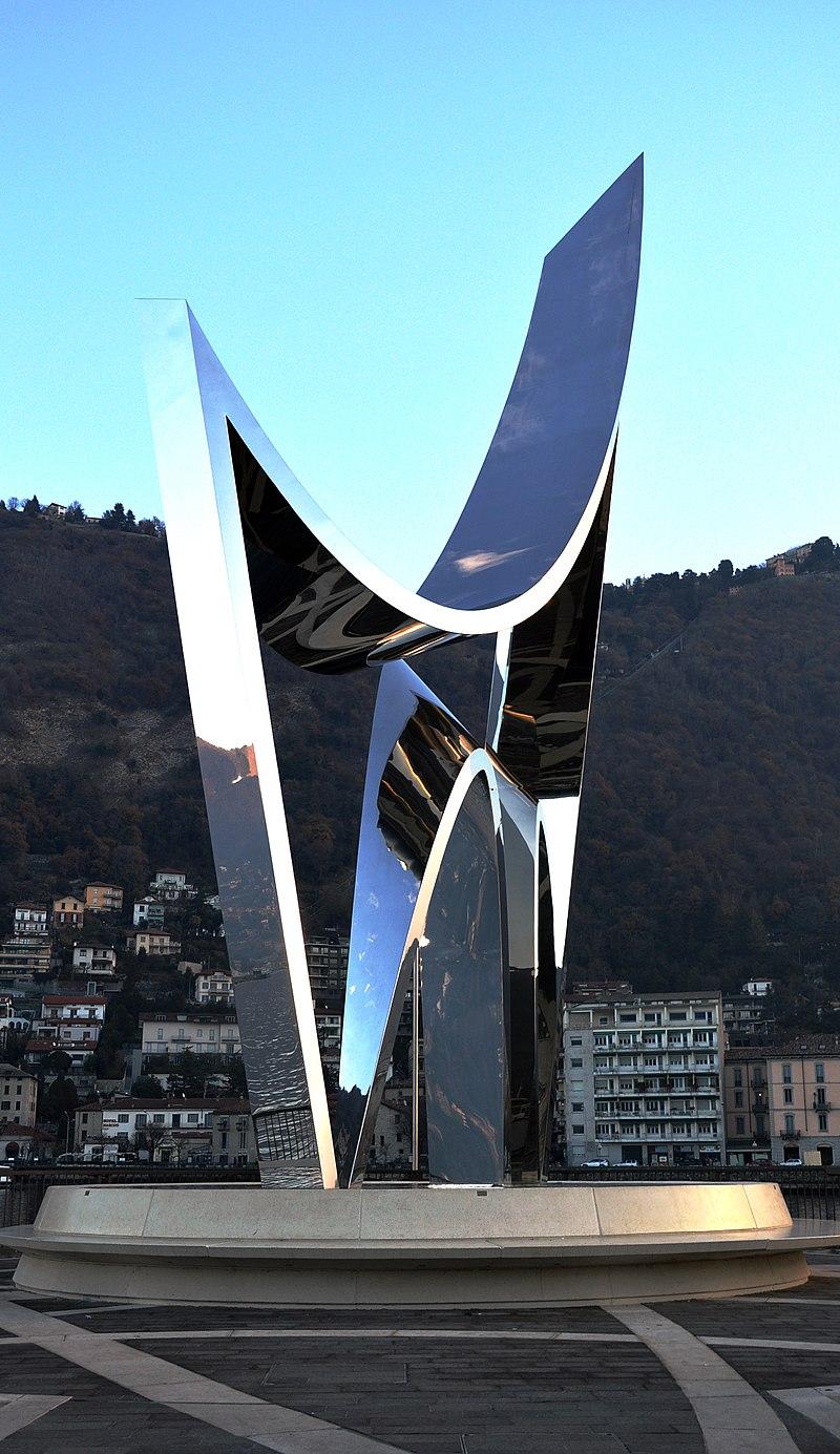 Life Electric, opera di Daniel Libeskind in omaggio allo scienziato comasco Alessandro Volta (2015)