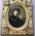 LOUVRE Museum, Paris, REMBRANDT (1606-1669)- Portrait de l'artiste a la toque et la chaine d'or - 1633.jpg