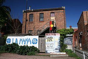 La Mama Theatre (Melbourne) - Image: La Mama Theatre, Carlton, Victoria, Australia