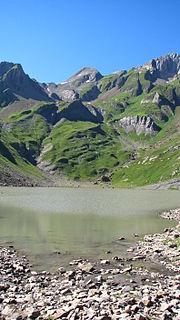 Lac de la Vogealle lake