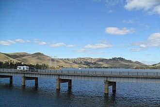 Bonnie Doon, Victoria - Image: Lake Eildon view to south 2012