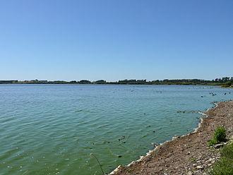 Lake Horowhenua - Image: Lake Horowhenua 11