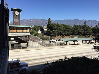 Lake station (Los Angeles Metro) - Exterior of the station