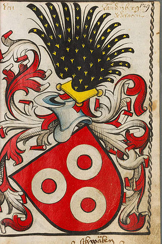 Landenberg - The Landenberg coat of arms in the 15th century