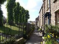 Lane beside churchyard, Kirkby Stephen - geograph.org.uk - 1706047.jpg