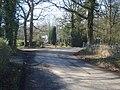 Lane junction near Stoneyard Green - 1 - geograph.org.uk - 758431.jpg