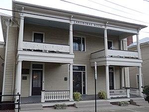 Nancy Astor, Viscountess Astor - Nancy's childhood home, the Langhorne House in Danville, Virginia.