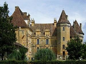 Château de Lanquais - Image: Lanquais castle