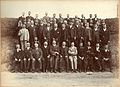 Large unknown group of Edwardian men (6908178478).jpg