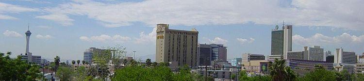 Downtown Las Vegas skyline