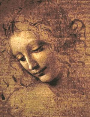 Image result for head of a woman leonardo da vinci